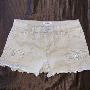 Mudd brand khaki shorts